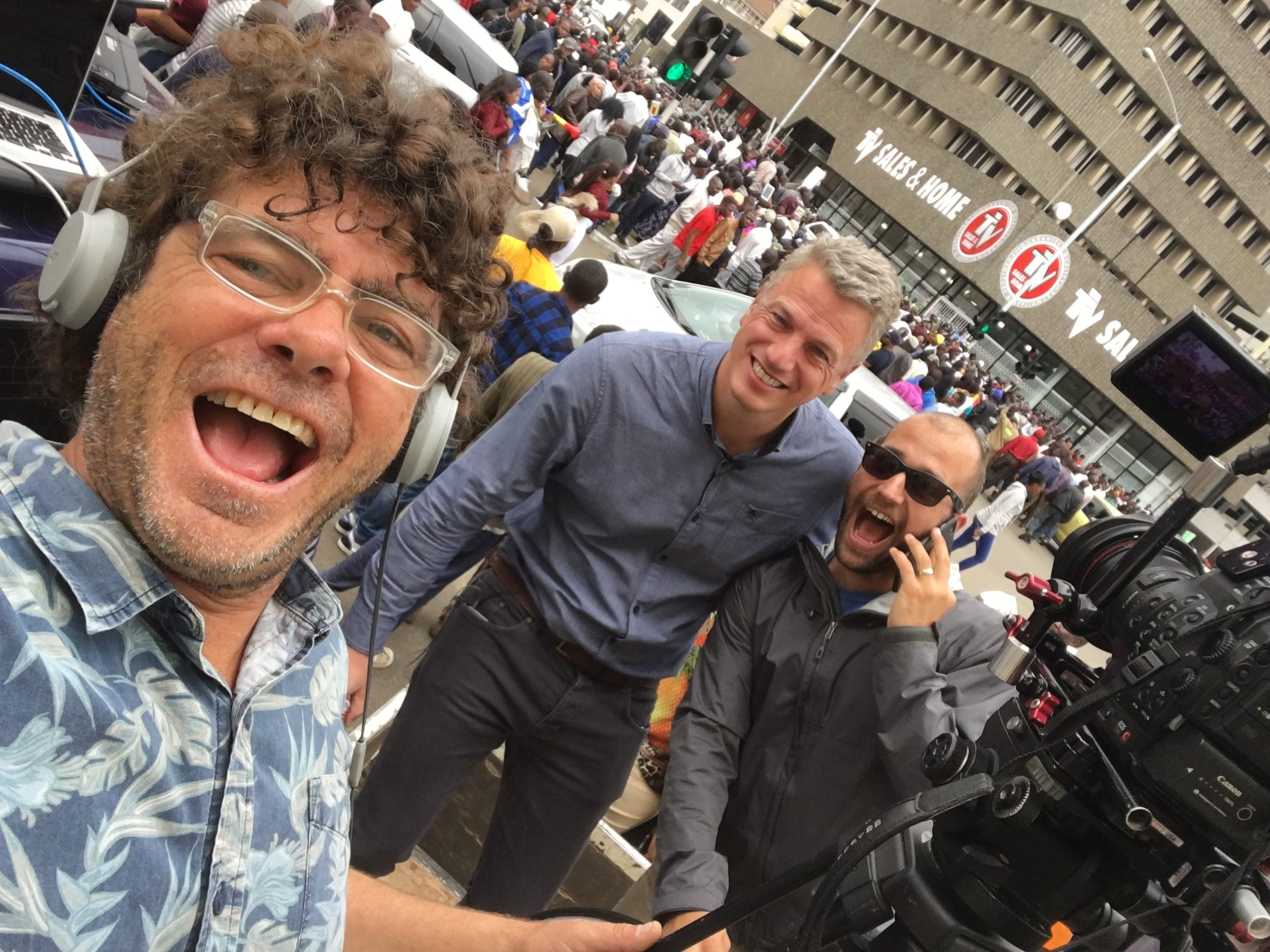 Peter Rudden broadcasting Zimbabwe Coupe