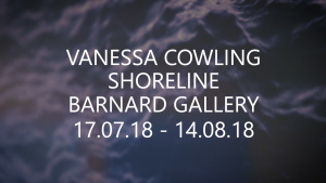 Behind-The-Scenes Of Vanessa Cowling's 'Shoreline' With Orms Print Room & Framing