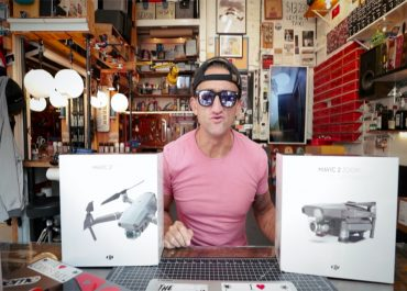 Last week DJI announced their two new additions to the Mavic family; the DJI Mavic 2 Pro and the Mavic 2 Zoom. Let's see what gear guru, Casey Neistat has to say about the new generation of DJI Mavics...