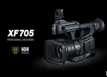 It's been a month of announcements, and the wave of new gear is not stopping yet with the announcement of Canon's new XF705 Camcorder!