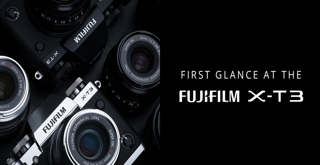 Fujifilm has joined the announcement streak of the month and jumped on board with their announcement of their new mirrorless fourth generation X-T3.