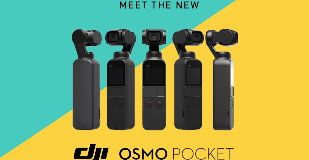 This just in, DJI have just announced their new gimbal-stabilised pocket camera the DJI Osmo Pocket!