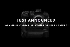 Just Announced; Olympus OM-D E-M1X Mirrorless Camera