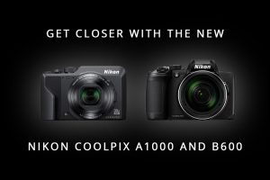 Get Closer with the new Nikon Coolpix A1000 and Coolpix B600