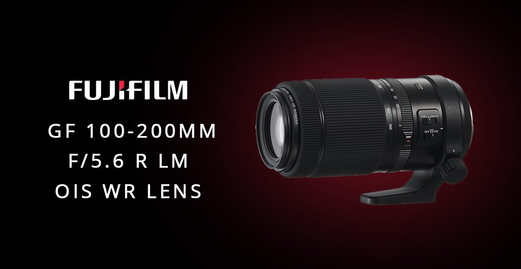 Fujifilm GF 100-200mm lens featured on Orms Connect