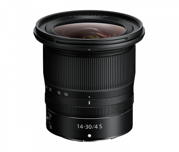 Nikon's not being left out of CES excitement with the announcement of their new Nikkor Z 14-30mm f/4 S Lens for their FX-format Z Series.