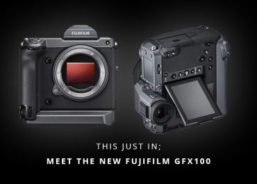 This Just In; Meet The New Fujifilm GFX100