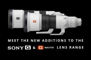 Meet The New Additions To The Sony G & G Master Range