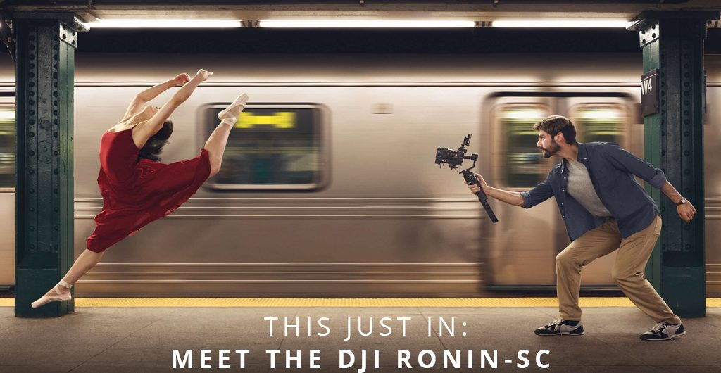 This Just In: Meet The DJI Ronin-SC