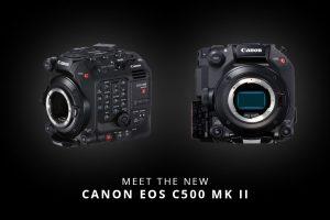 Meet the Canon EOS C500 Mark II