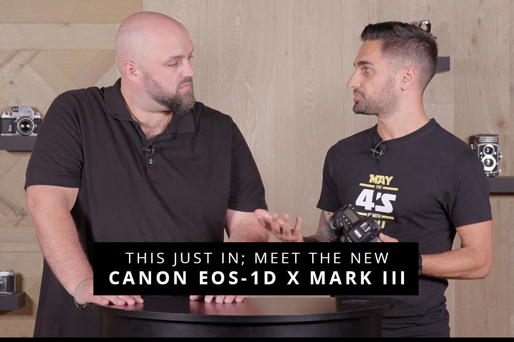 This Just In; Meet The New Canon EOS-1D X Mark III