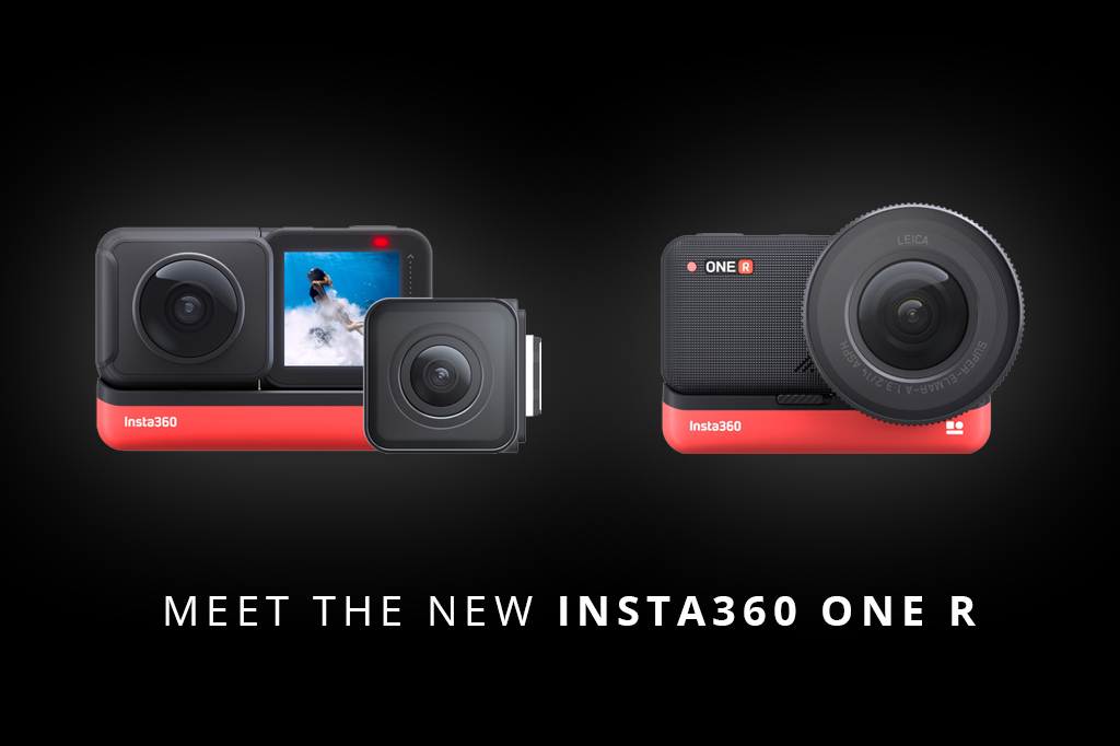 Insta360 blows CES 2020 away with the announcement of their latest device, this is the Insta360 One R.