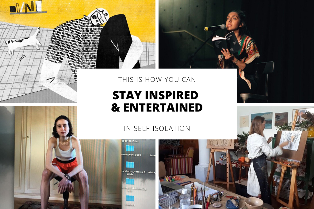 10 Instagram Accounts To Follow For Inspiration, Education & Entertainment While Self-Isolating