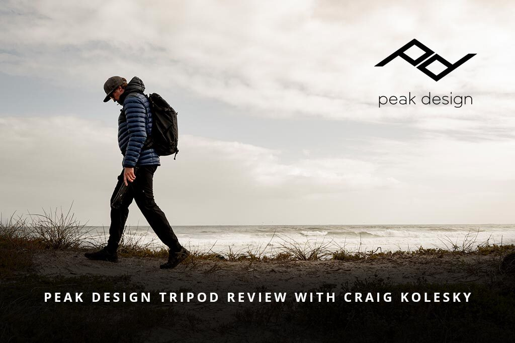 Peak Design Tripod Review With Craig Kolesky