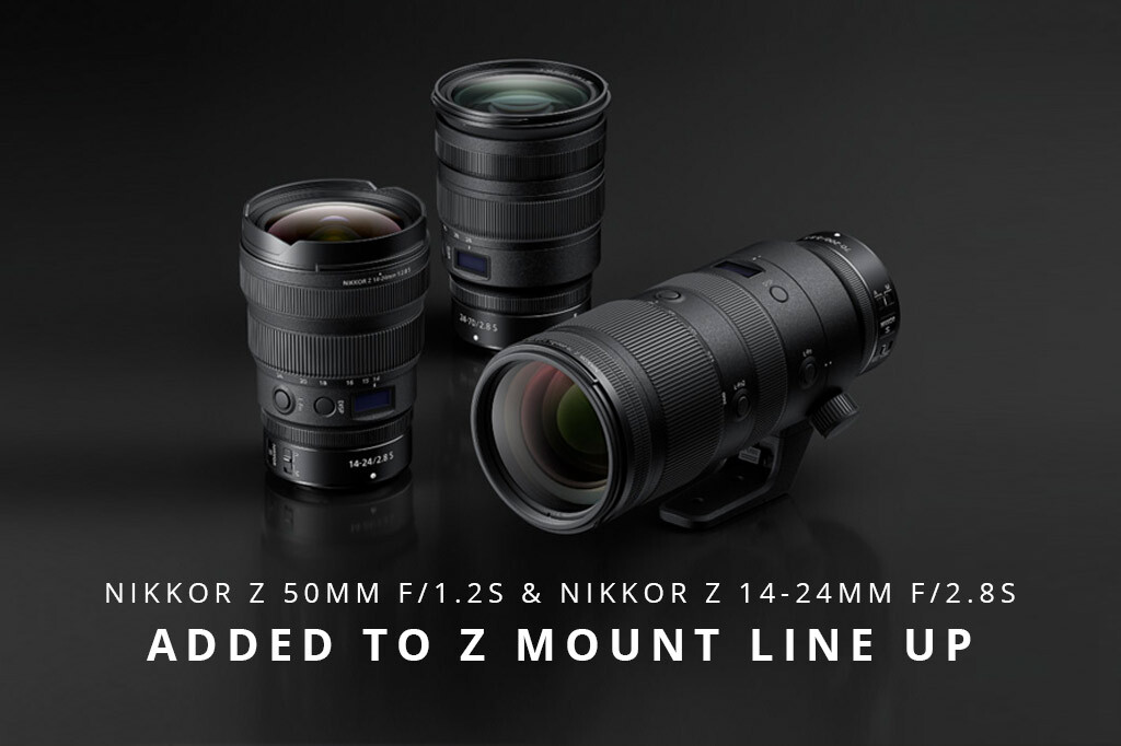 Nikkor Z 50mm f/1.2S & Nikkor Z 14-24mm f/2.8S Added To Z Mount Line Up