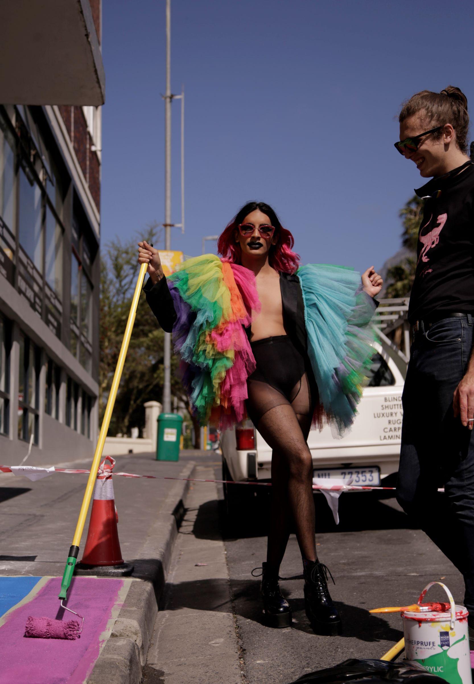 pridewalk painting tazme