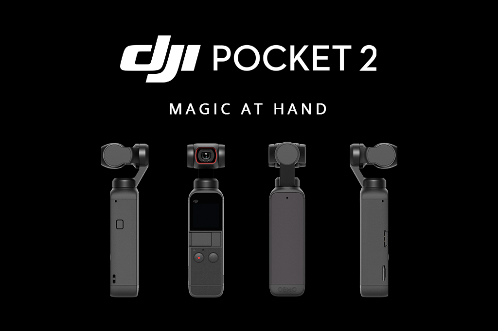 The DJI Pocket 2: Say Hello To 64MP Stills & Even More Creative Features