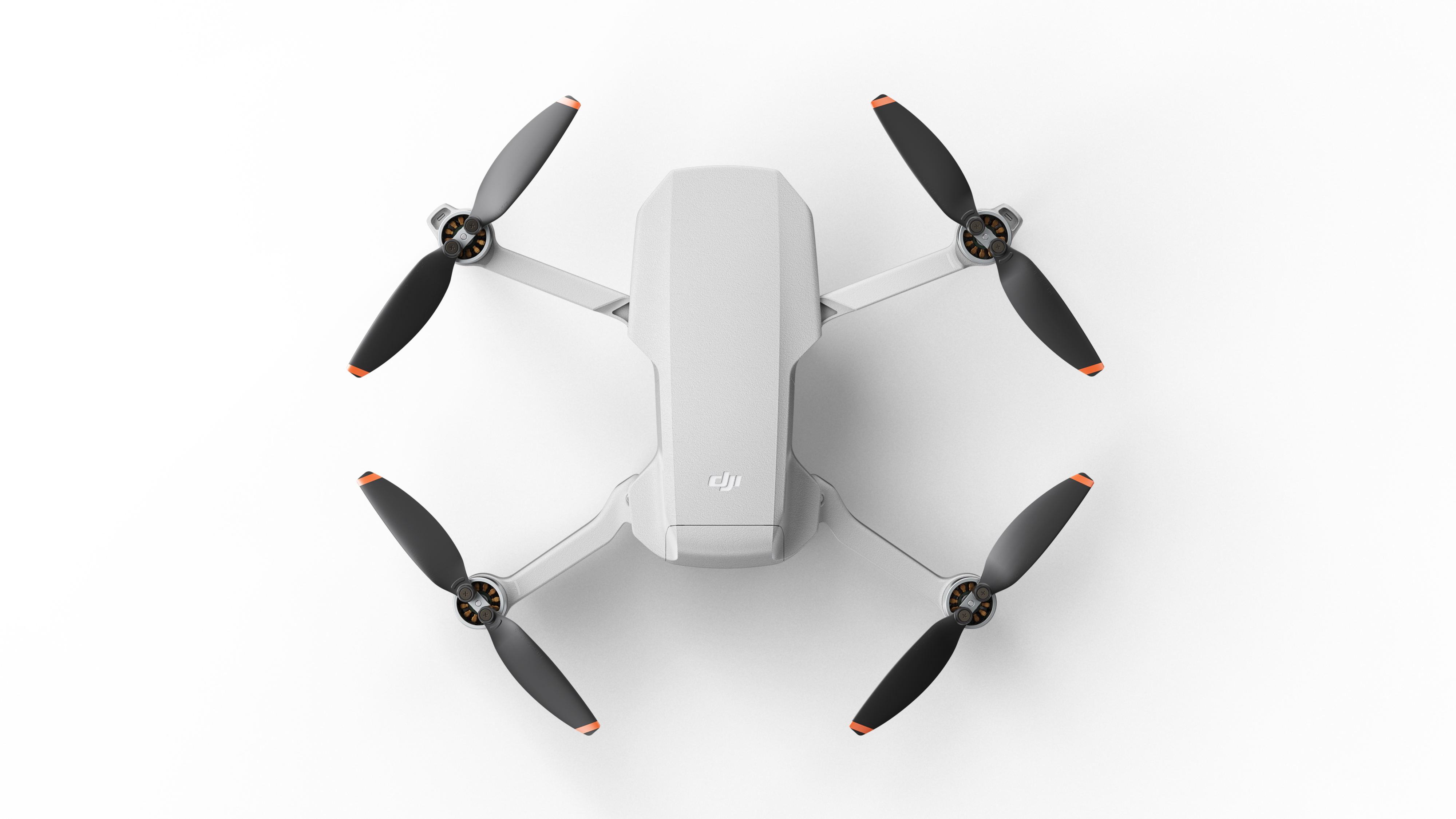 drone with arms extended