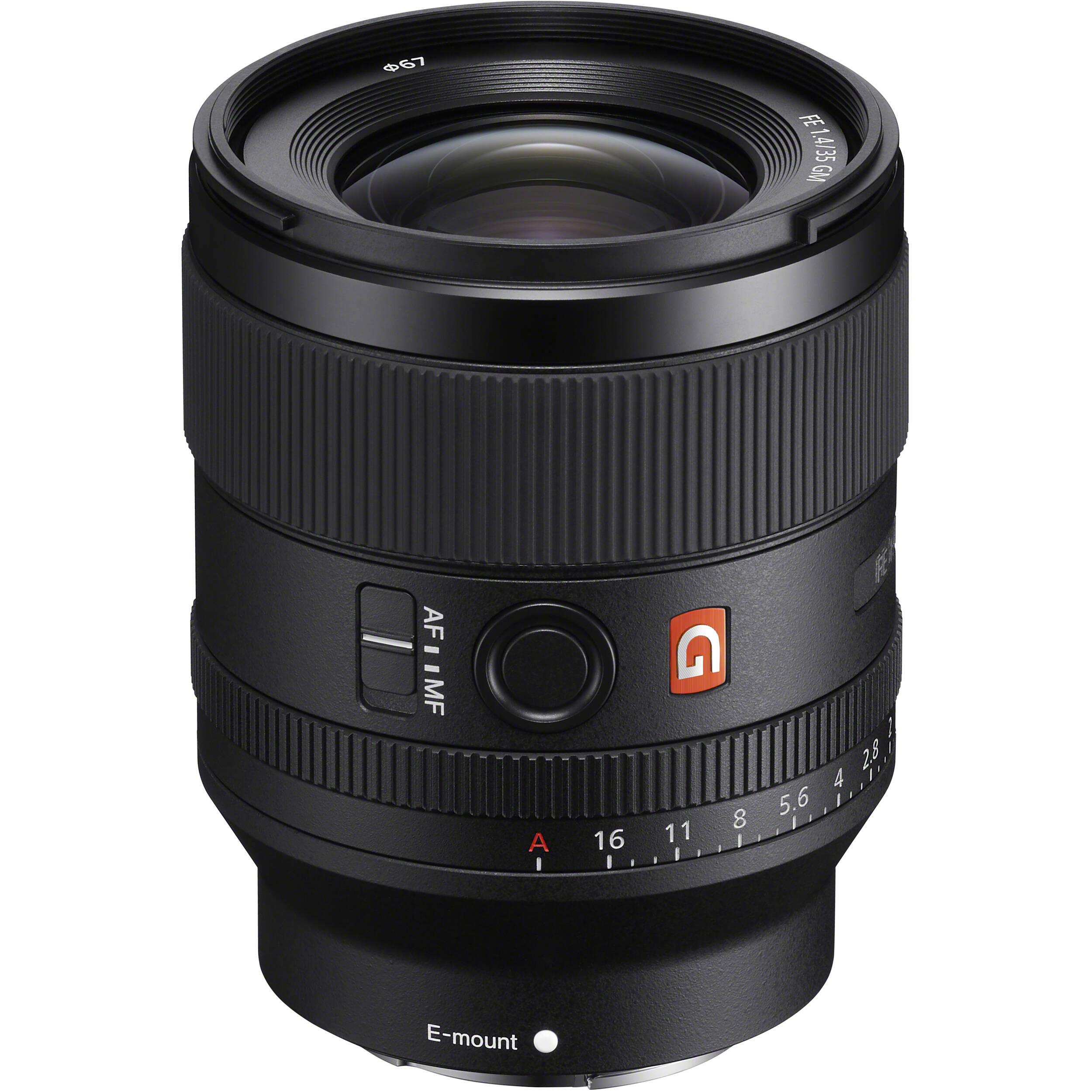 sony fe 35mm f1.4 g master prime lens