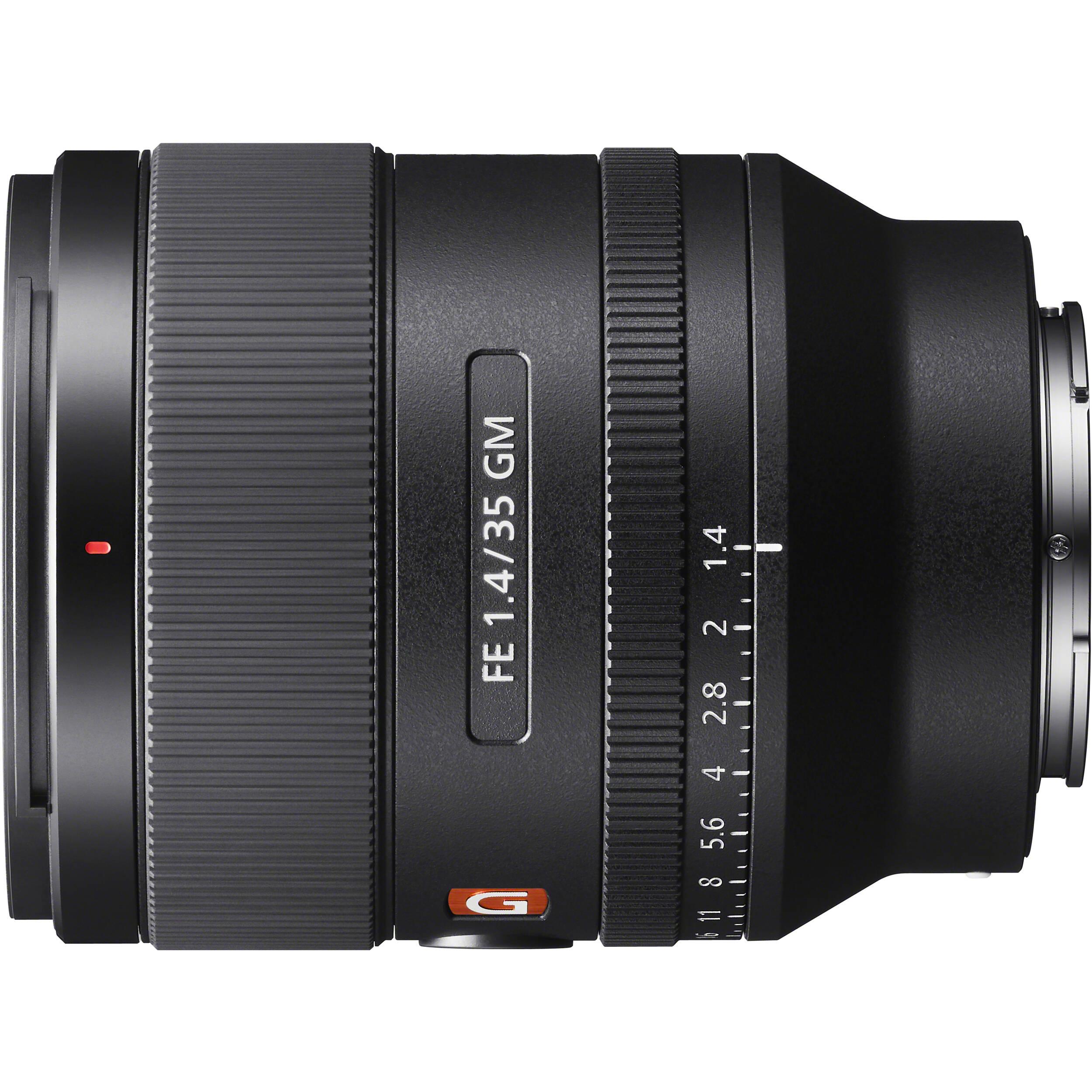 sony 35mm f1.4 g master prime lens