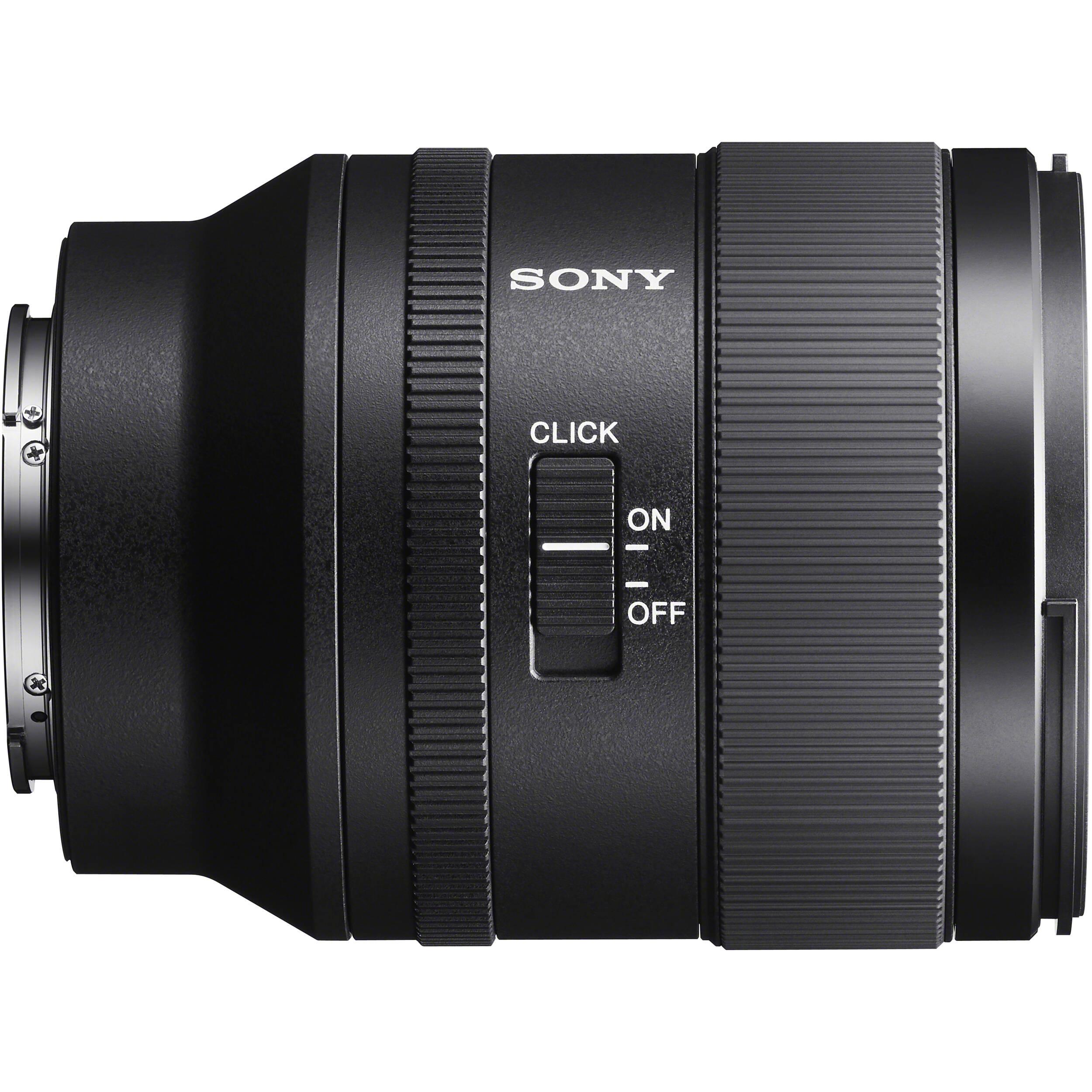 sony fe 35mm f1.4 g master lens