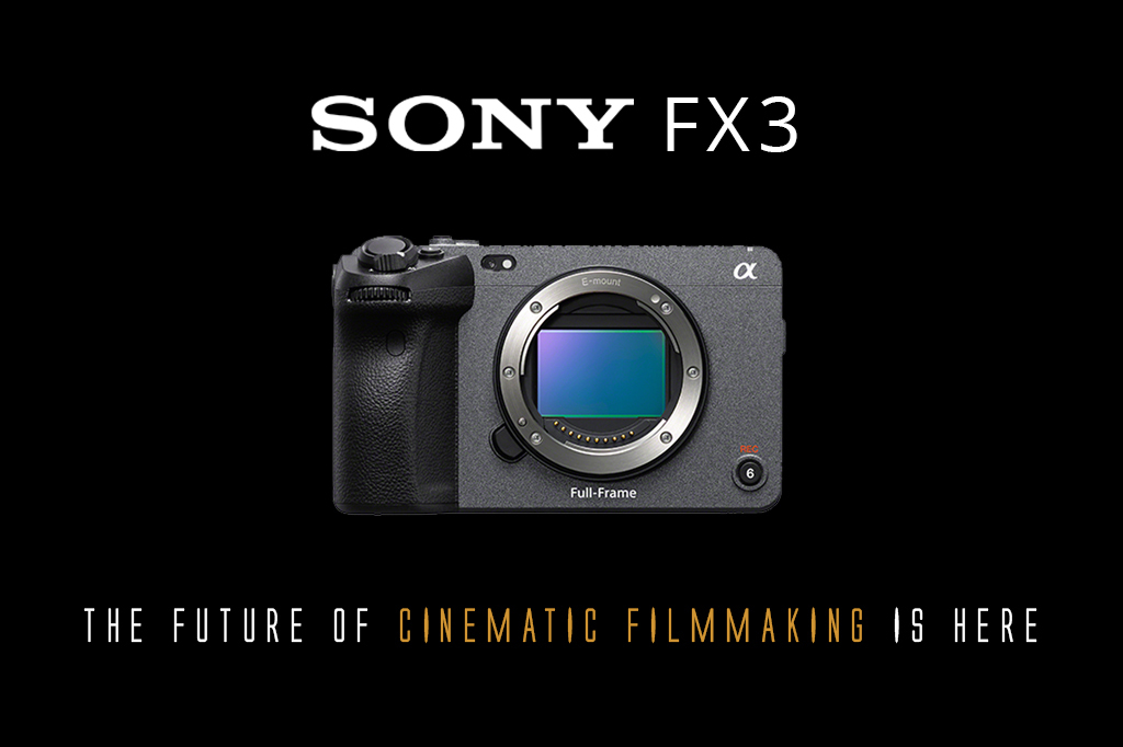 Meet The Sony FX3, The Future of Cinematic Filmmaking!