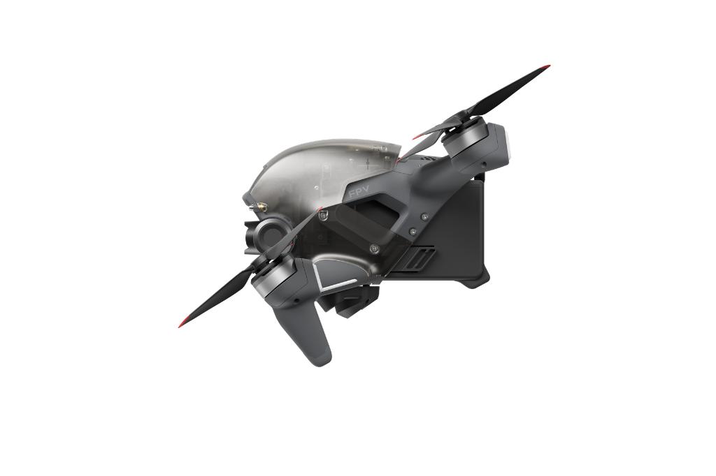side angle of new dji drone
