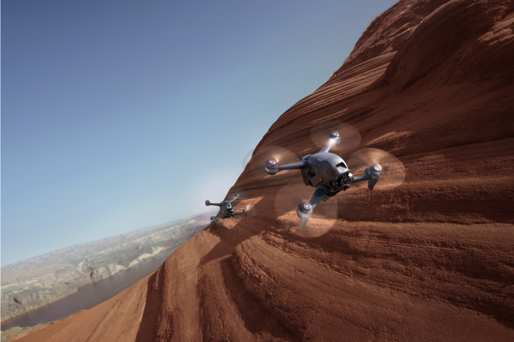 Redefine Flying With The DJI FPV: Next-Level Immersion, Unreal Footage