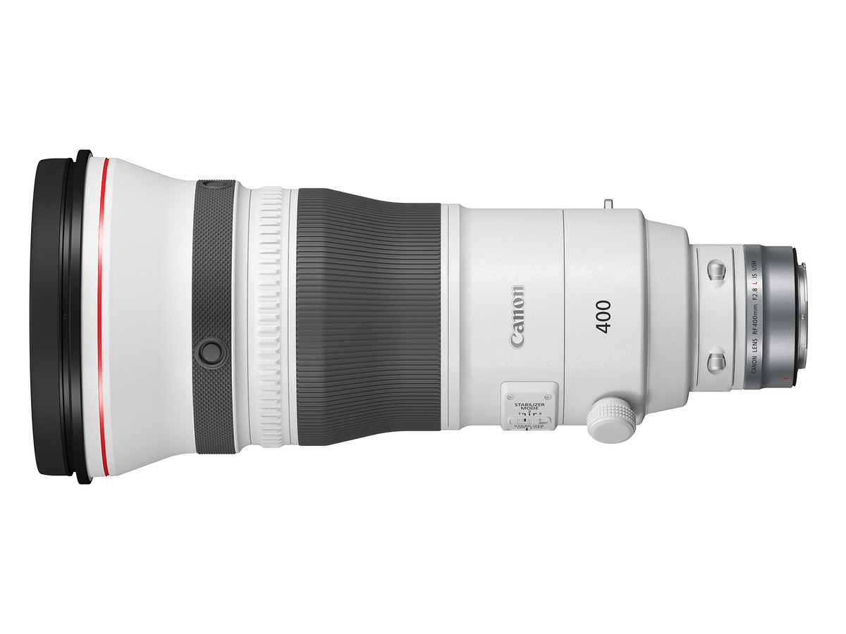 THE RF 400MM F2.8L IS USM LENS top view