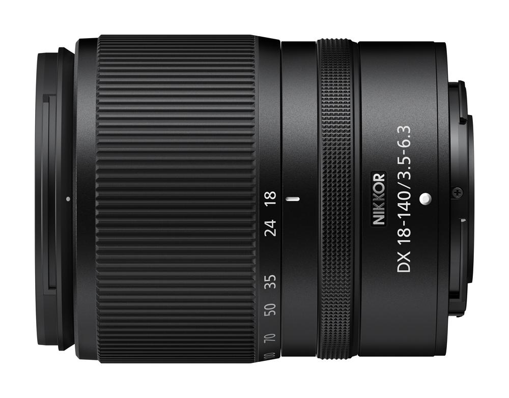 NIKKOR Z DX 18-140mm f/3.5-6.3 VR lens