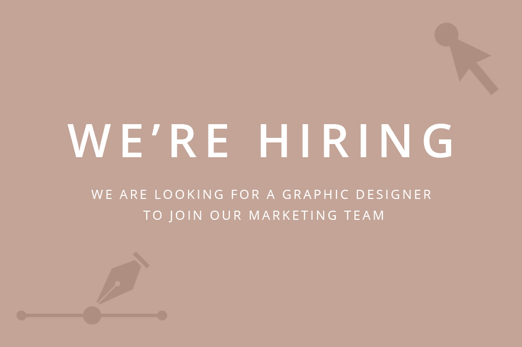 We're Looking For A Graphic Designer To Join Our Creative Team!