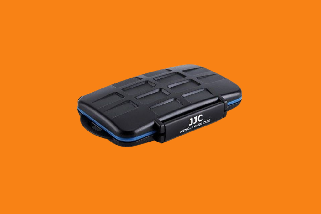 JJC MC-ST16 Water Resistant Memory Card Case For SD & microSD Cards