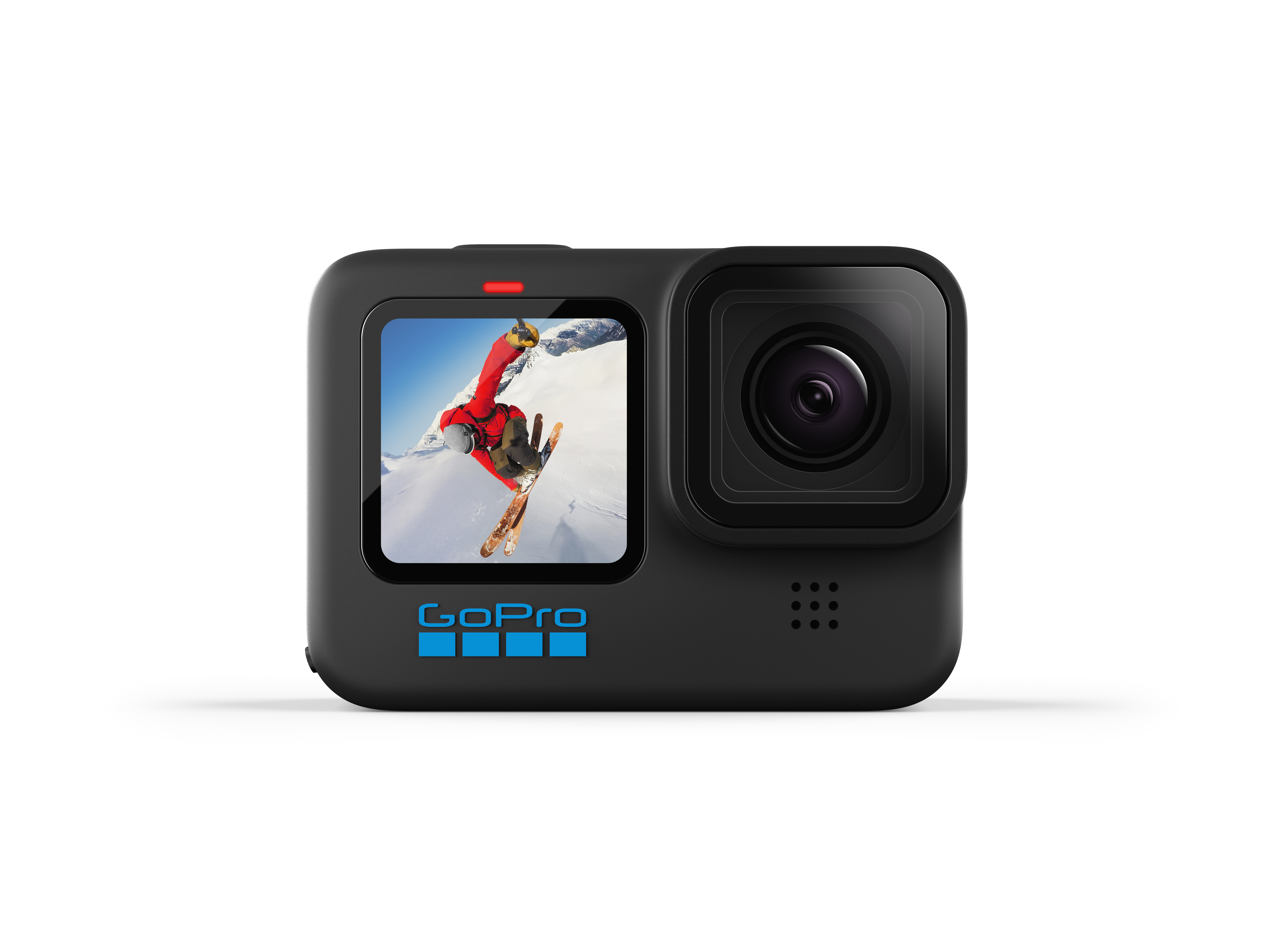 GoPro hero10 black front view straight on