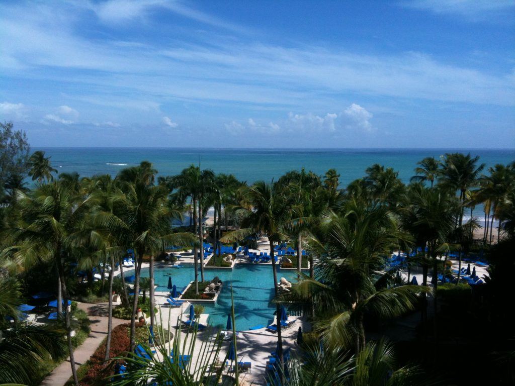 Ritz-Carlton San Juan Balcony View