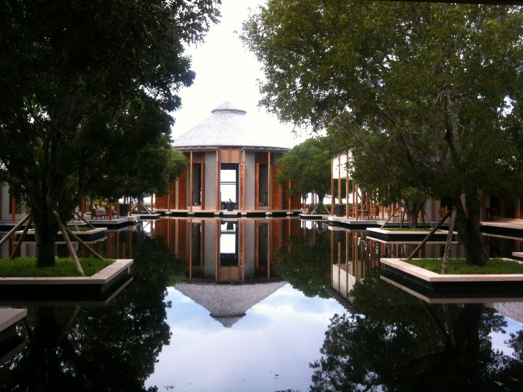 Amanyara reflecting pool