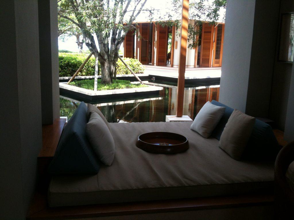 Cuddle spot at Amanyara