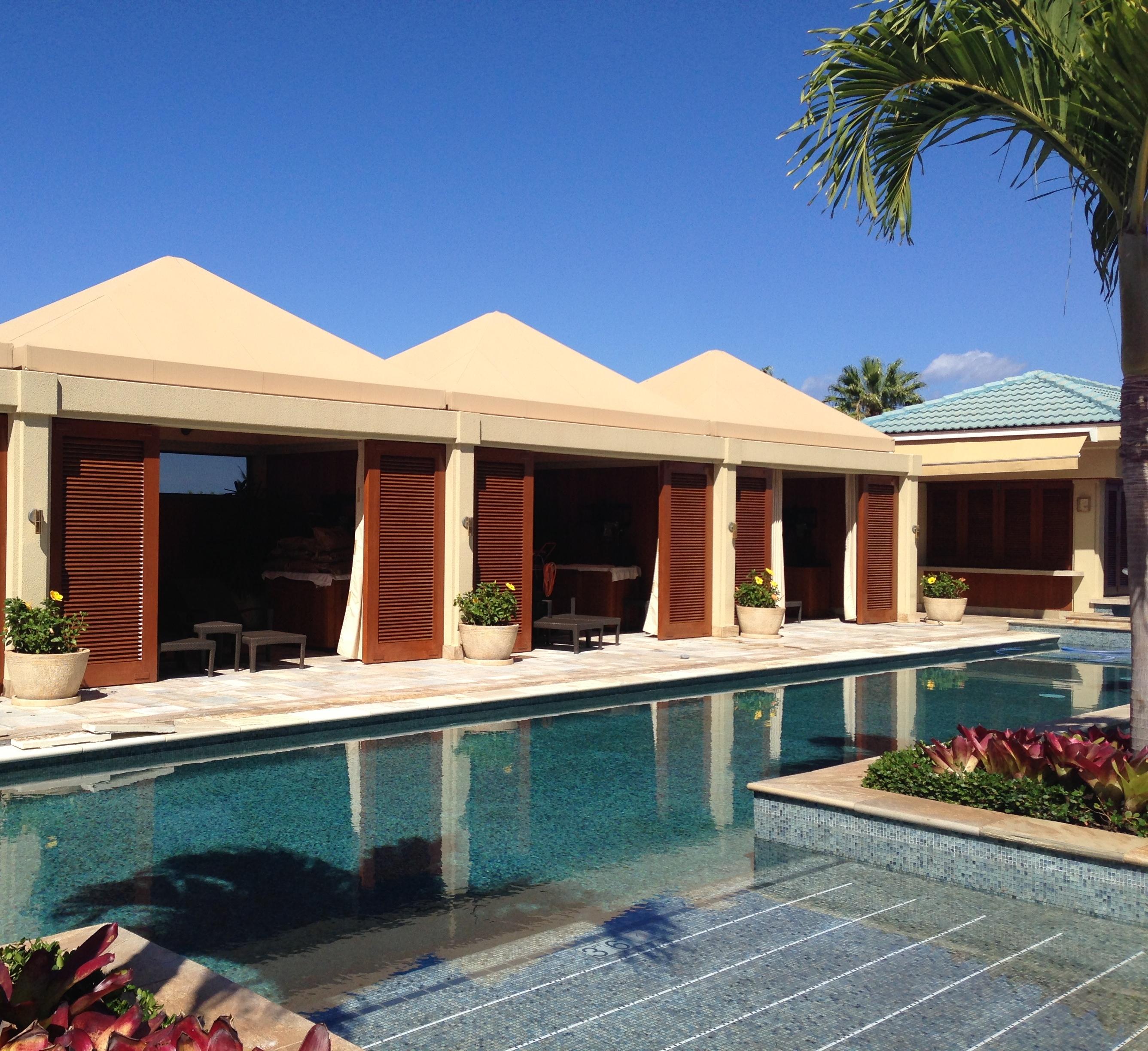 Four Seasons Maui Serenity Pool Cabanas