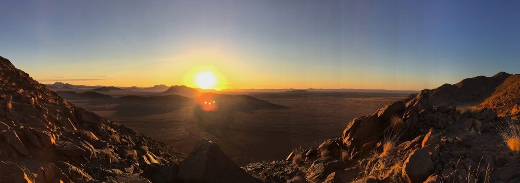 Every sunset in Namibia was gorgeous, but this one was my favorite