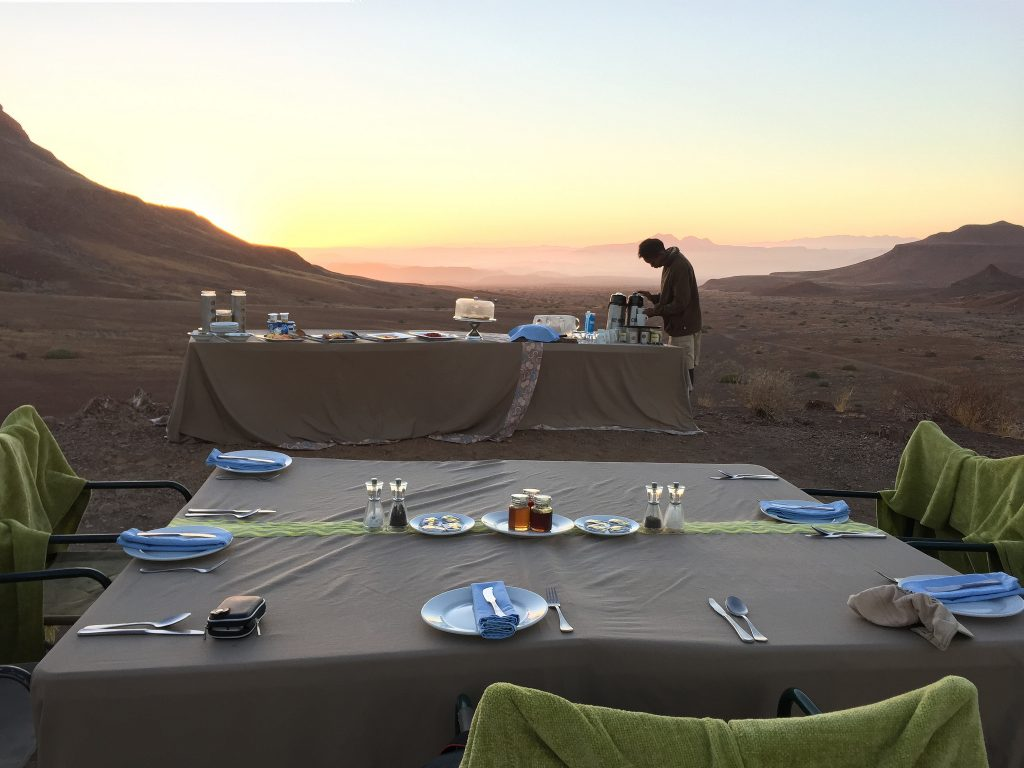 Damaraland Bush Breakfast