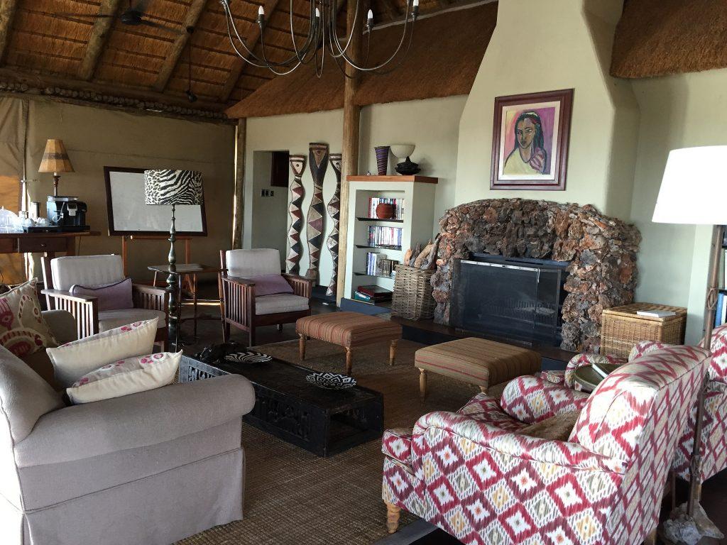 Living Room at Little Ongava