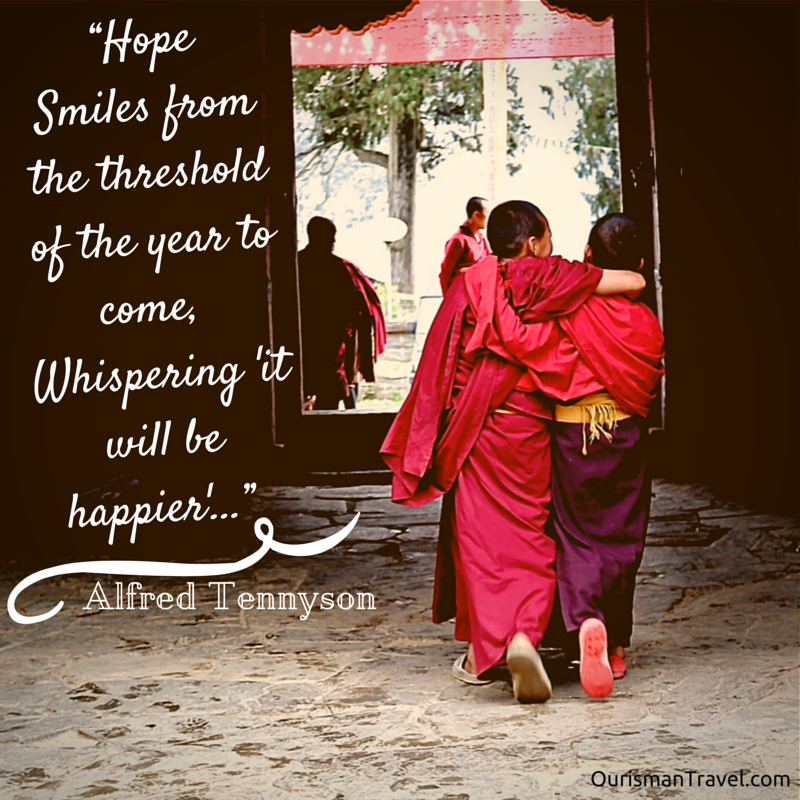 Let's Cross the Threshold Together. Here's to a Happy New Year!