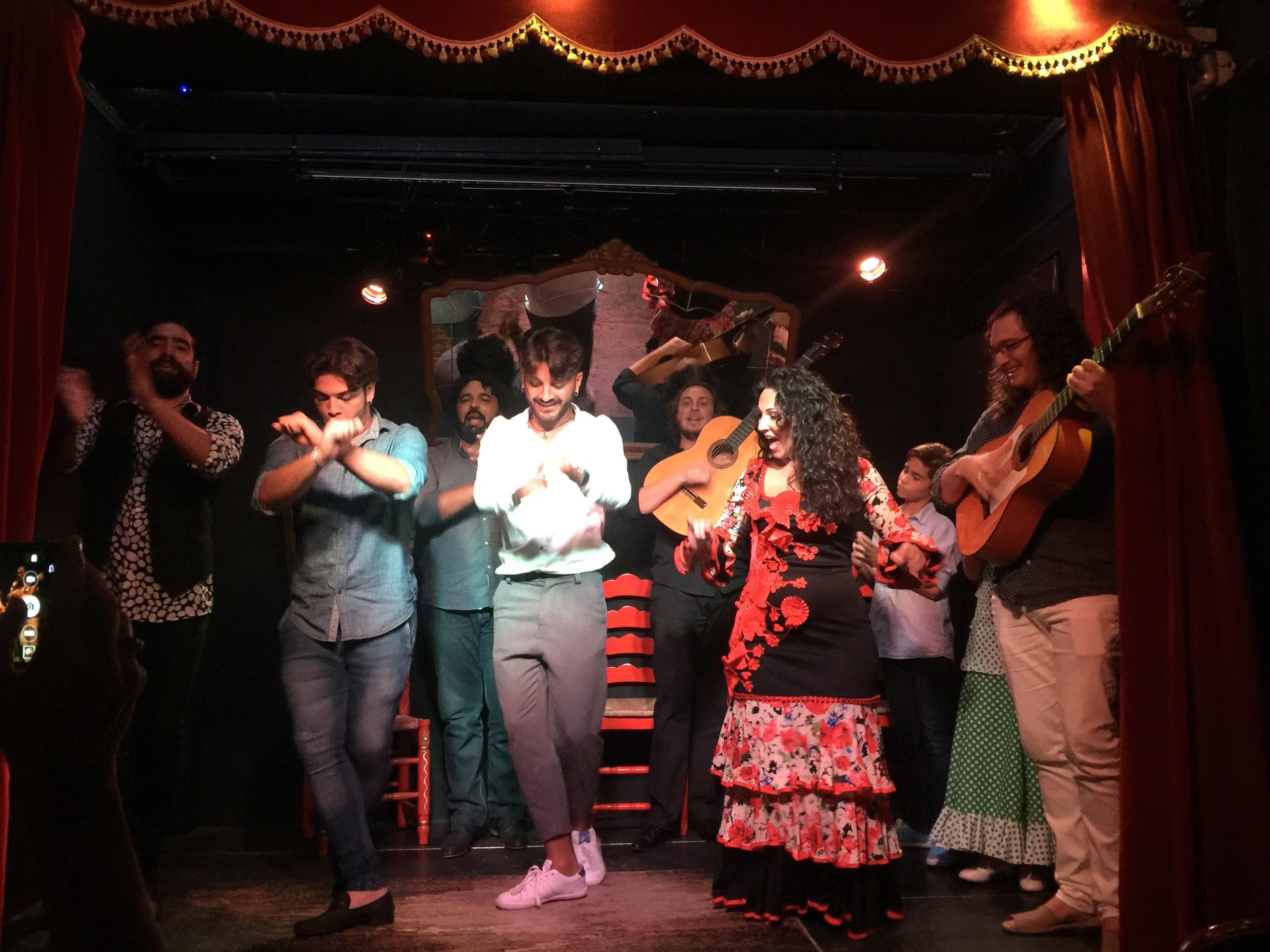 Spain: Gypsy Flamenco Dancers