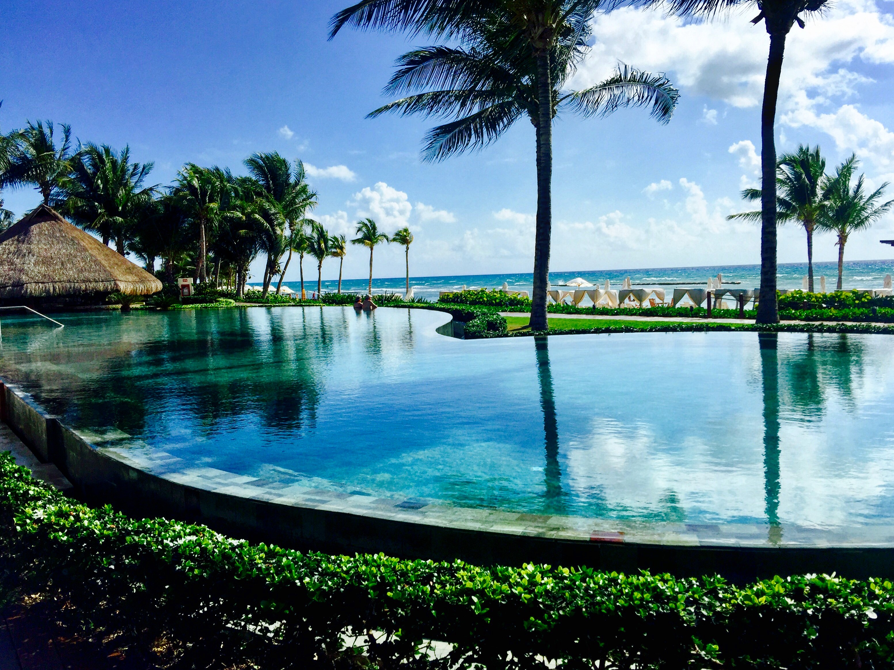 Grand Velas Grand Class adults-only pool