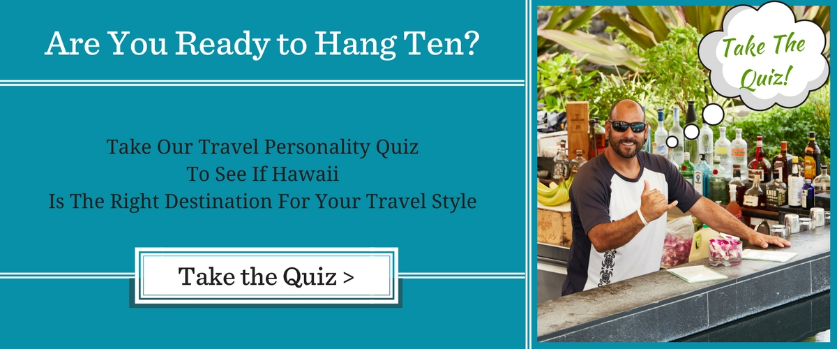 Hawaii - Travel Personality Quiz