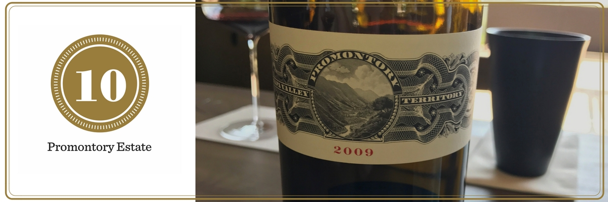 California Wine Tasting: Promontory