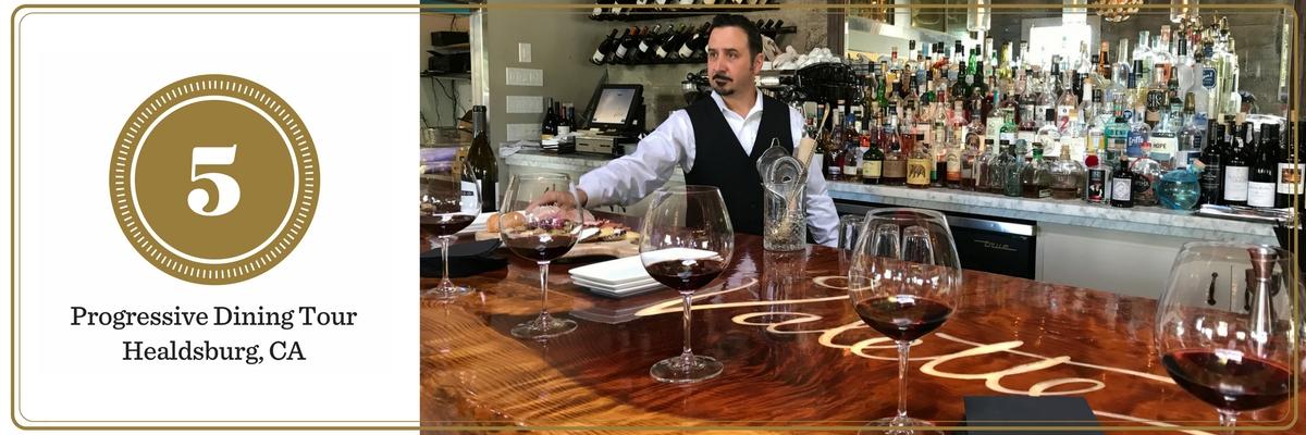 California Wine Tasting: Healdsburg Dining