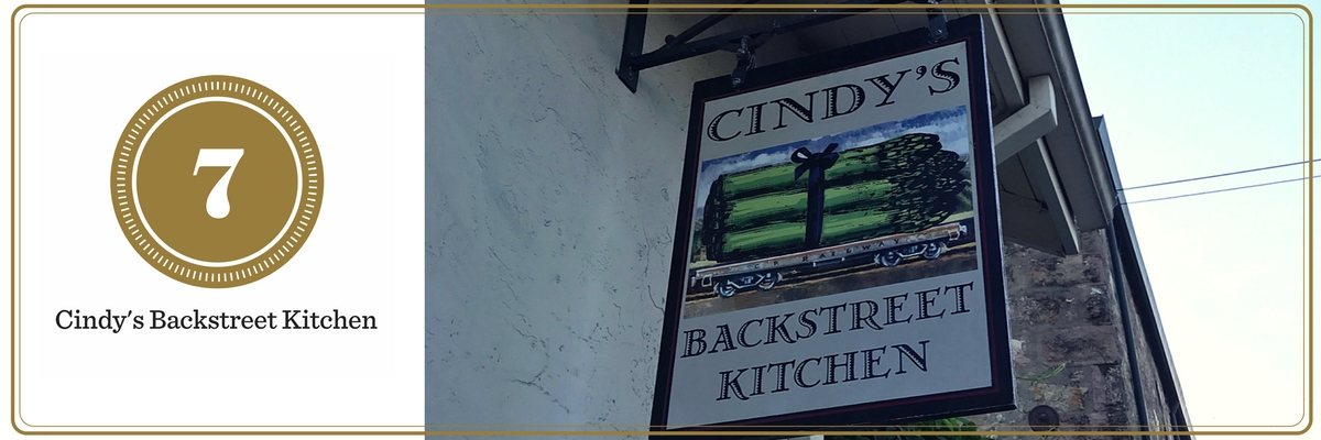 California Wine Tasting: Cindy's Backstreet Kitchen