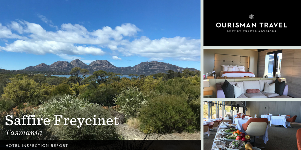 Saffire Freycinet, True Tasmania Luxury