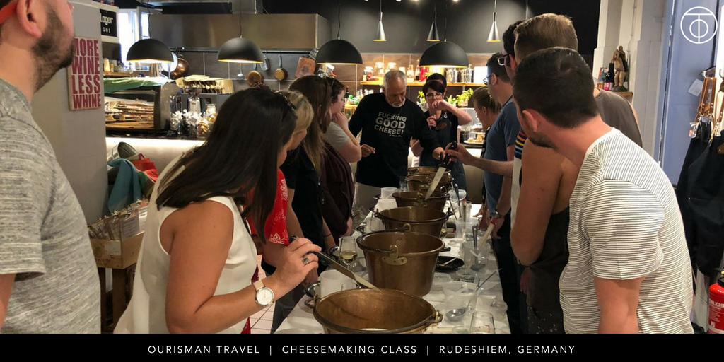 U by Uniworld: Cheesemaking in Rudesheim