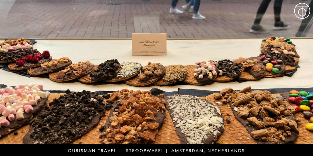 U by Uniworld: stroopwafel in Amsterdam